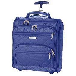 """16.5"""" Underseat Women Suitcase Luggage Carry On - Small Roll"""