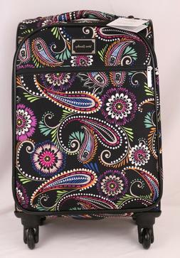 "Vera Bradley 22"" Spinner Suitcase Bandana Swirl Luggage Trav"