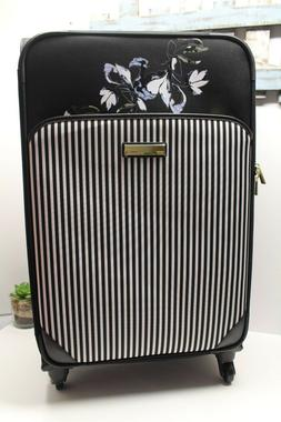 Vince Camuto 28-inch Expandable Spinner Luggage Floral Black