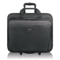 Solo Empire 17.3 Inch Rolling Laptop Case, Black