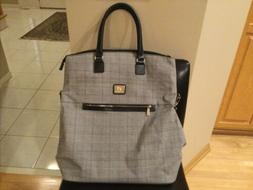 ANNE KLEIN Carry-On/Tote Bag/Suitcase/Overnight Bag Black, W