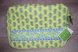 Vera Bradley Citrus Apple Green Little Suitcase Travel Case