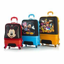 Disney Clubhouse Hybrid Soft Side Spinner Luggage Suitcase S