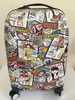 """BRIGHTON """"FASHIONISTA"""" Roller Hard Case Carry-on Luggage/Sui"""