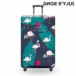 Flamingo Luggage Suitcase Protective Cover Sleeve Elastic Tr