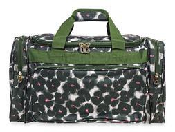 Floral Flower Print Duffle Duffel Bag Travel Carry On Weeken