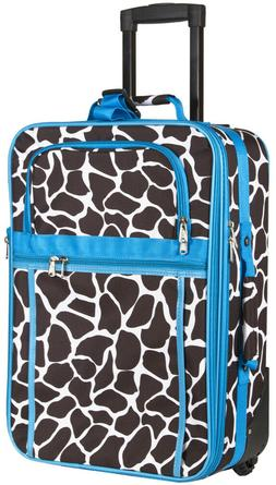 Giraffe Carry On Luggage Suitcase Travel Small Rolling Wheel