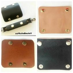 HQ Cowhide Leather Handle Wrap Grip Sleeve for Bags Luggage