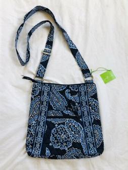 Vera Bradley Hipster Crossbody Women's Purse Bag Blue Pais