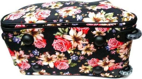 "Women's Lily Print 21"" Duffel Bag Suitcase"