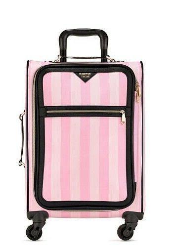 victoria s secret wheelie luggage suitcase signature