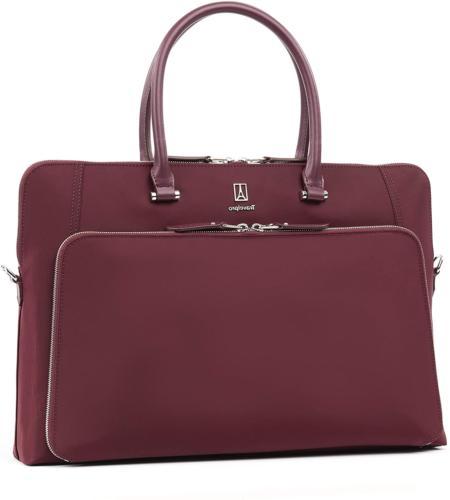 Travelpro Women's Plaitnum Elite - Briefcase, Bordeaux, One
