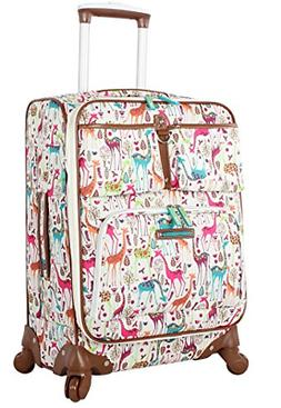 Lily Bloom Luggage Carry On Expandable Design Pattern Suitca