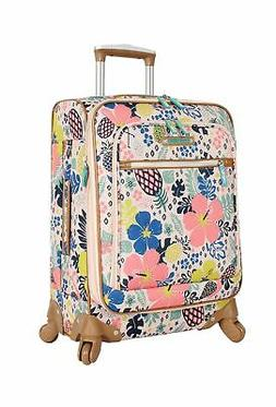 Lily Bloom Luggage Carry On Expandable Design Pattern M5246-
