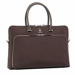 Travelpro Luggage Platinum Elite Women's Briefcase, Rich Esp