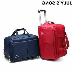 Luggage Trolley Suitcase Duffle Carry-On Bag with Wheels Tra