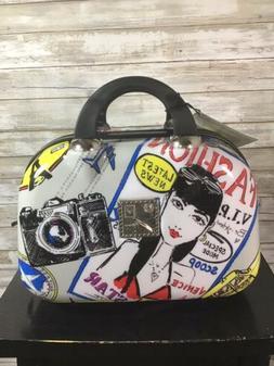 New BRIGHTON Fashionista Jetsetter Cosmetic Case Suitcase Lu