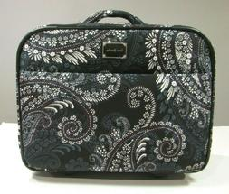 Vera Bradley On a Roll Work Wheeled rolling Tote Bag Paisley
