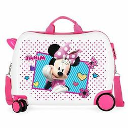 trolley suitcase wheelybug minnie joy girl pink