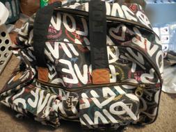 VICTORIA'S SECRET LARGE BLACK PINK LOVE GRAFFITI  ROLLING DU