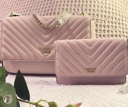 VICTORIA'S SECRET Set Bag Pink and Wallet Handbag Shoulder P