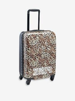 Victorias Secret Pink Hardcase Cheetah Carry On Wheelie Lugg