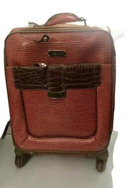 Samantha Brown Watermelon 2 piece Spinner Luggage & Suitcase