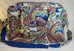 Vera Bradley Weekender in Marina Paisley bag suitcase