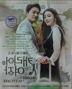 Woman with a Suitcase  Korean Drama DVD with Good English Su