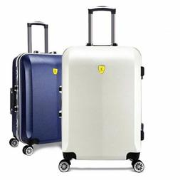 Women's Travel Luggage Aluminum Suitcase Boarding Case Rolli